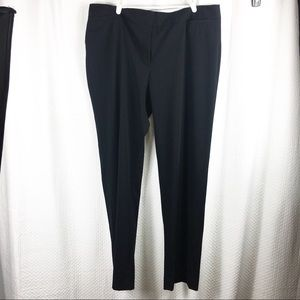 Liz Claiborne Audra Black Dress Pants 18 T